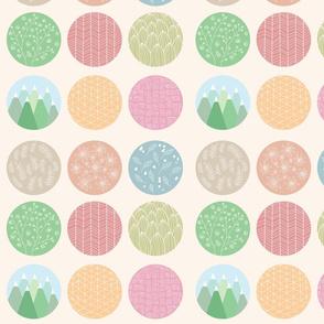 Colorful circles 01