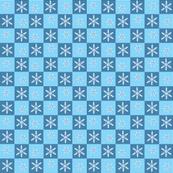 snowflakesinsquarespattern