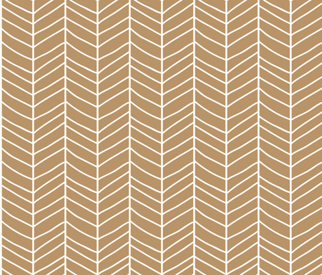 Chevron brown fabric by bluelela on Spoonflower - custom fabric