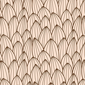 Cactus brown and beige