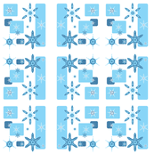 snowmansnowflakepatterncollection