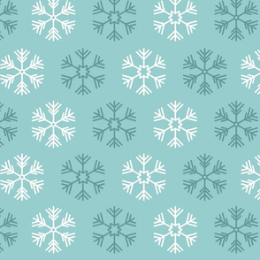 Snowflake pattern 02