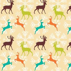 Christmas Reindeer Pattern 01