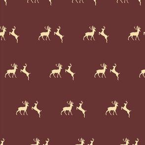 Christmas Reindeer Pattern 08