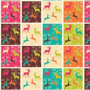 Christmas Reindeer Pattern 05