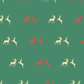 Christmas Reindeer Pattern 09