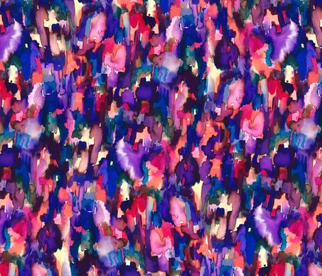Verve Blue fabric by mjmstudio on Spoonflower - custom fabric