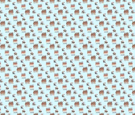 Humpty_Dumpty_Blue fabric by edithschmidt on Spoonflower - custom fabric