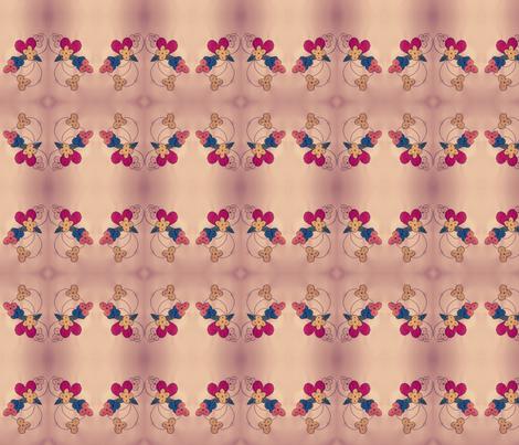 Fair lady fabric by kesy on Spoonflower - custom fabric