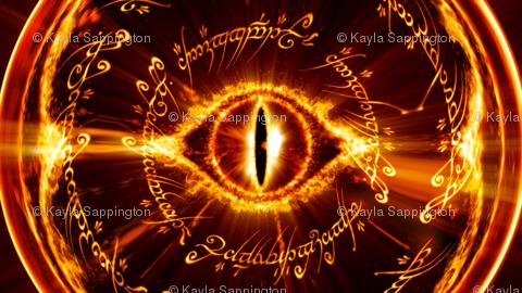 Eye Of Sauron Wallpaper Sappingtonk Spoonflower