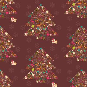 Ornamental Christmas tree 02