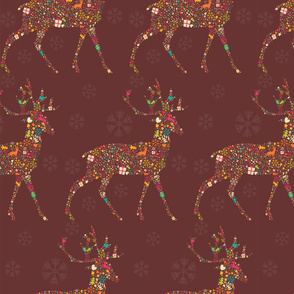 Ornamental Reindeer 02