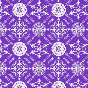 Nightmare Wrapping Paper in Purple