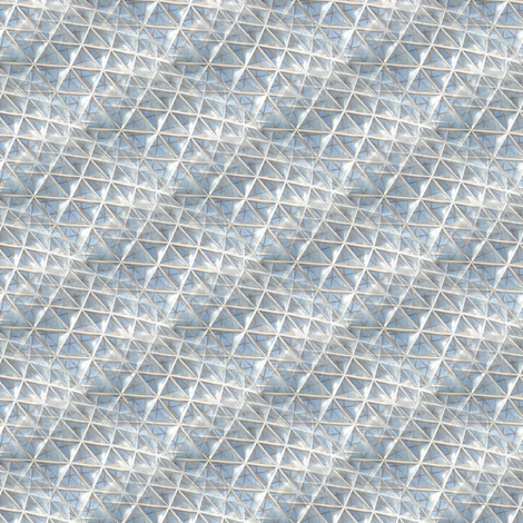 triangles_in_light fabric by modernfox on Spoonflower - custom fabric