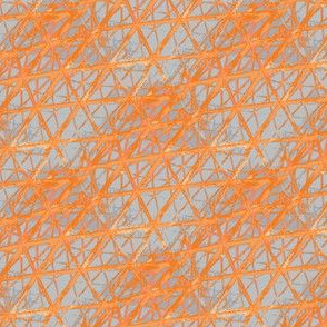 orange and grey triangles