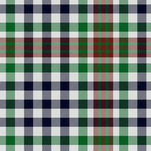 Burns check tartan