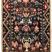 Wool rug from Vesilahti, Finland