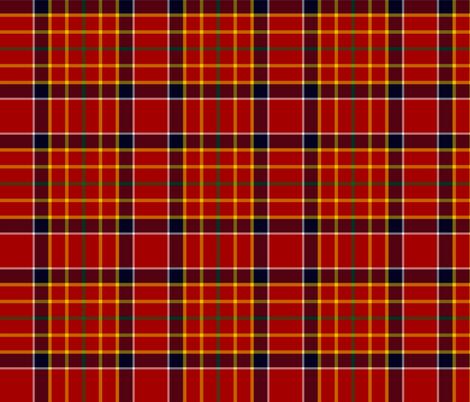 Hackston or Halkerston tartan fabric by weavingmajor on Spoonflower - custom fabric