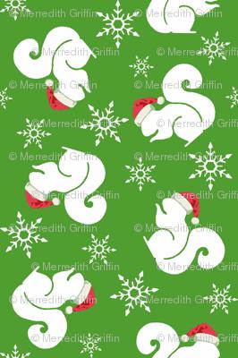 Santa Squirrels