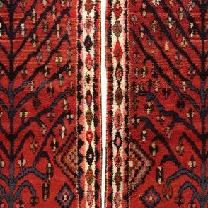 Antique Persian Gabbeh Rug tree of life