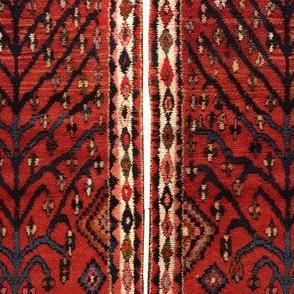 Antique Persian Gabbeh Rug tree of life