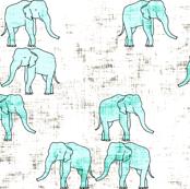 safari_elephant_grunge