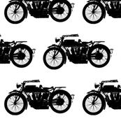 Antique Motorcycle - Large