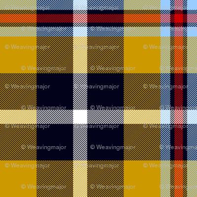 Cornish national tartan - warmer yellow