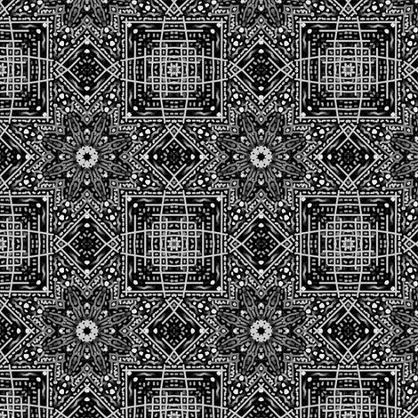 Grandma's Greys fabric by tallulahdahling on Spoonflower - custom fabric