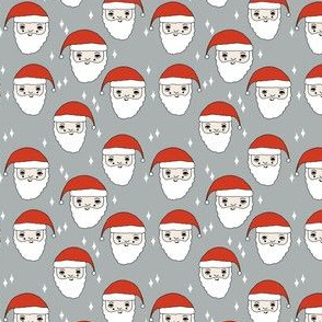 santa // father christmas santa claus cute christmas fabric