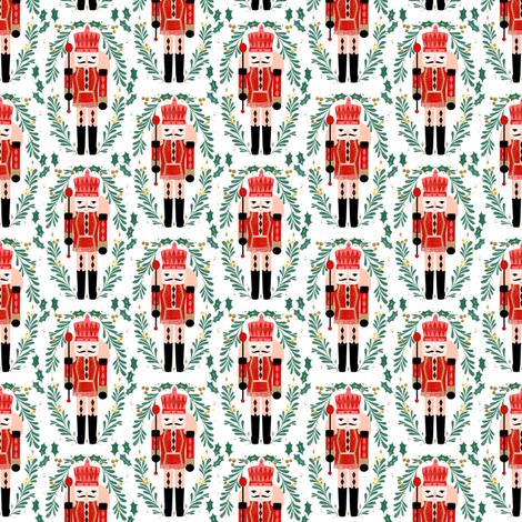 nutcracker // small christmas fabric xmas holiday nutcrackers nutcracker ballet xmas holiday fabric by andrea lauren fabric by andrea_lauren on Spoonflower - custom fabric