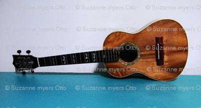 Suzanne's Ukulele - wide horizontal stripe