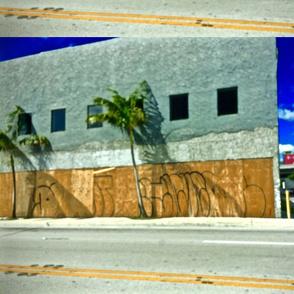 tropical graffiti