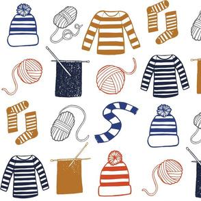 Knitting in Stripes
