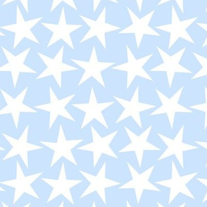 a big star now baby blue