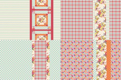 Spring_Collection_1_Tea_towels fabric by lana_gordon_rast_ on Spoonflower - custom fabric