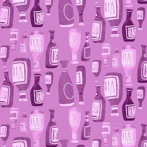 In Vino Veritas (pink monotone)