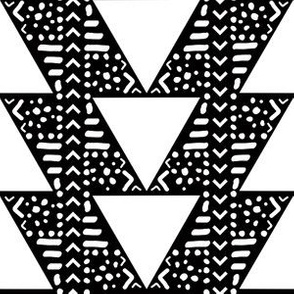 Tribal Triangles in Black + White