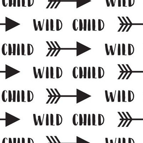 Wild Child Arrows in Black + White
