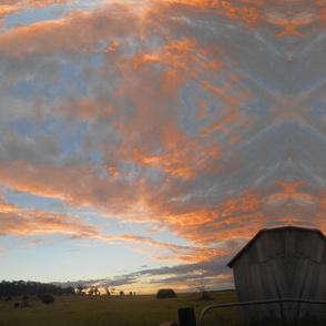 Reflections on the Edge of Dusk - Large ScaleHorizontal Stripes (Ref. 3583b)