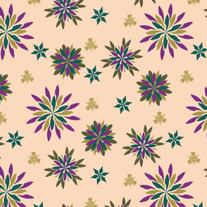 Christmas Geometric Snowflake