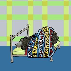 quilt block: dream nw bear