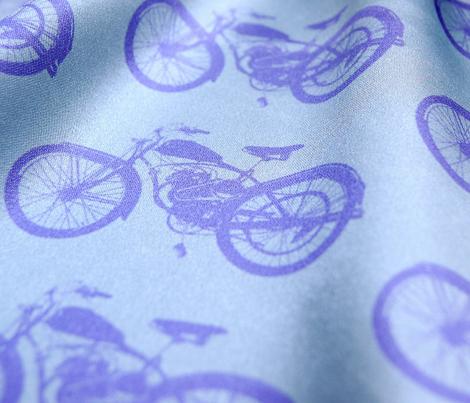 Purple Vintage Motorbikes