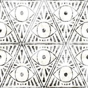 zodiac_magic_eye_light black and white