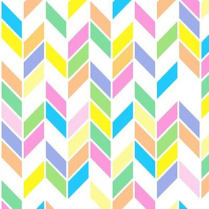 Spring Pastels Colorway - Chevrons