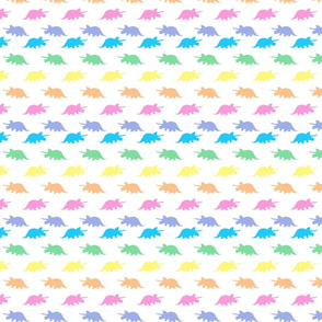 Spring Pastels Colorway - Triceratops