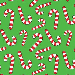 Christmas Candy Cane Cute Holiday Pattern