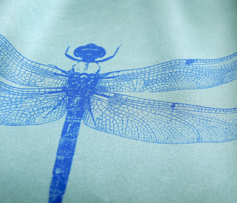 Dragonfly - Green Background