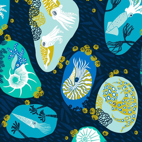 cephalopods_through_time_TEATOWEL_ROTATE