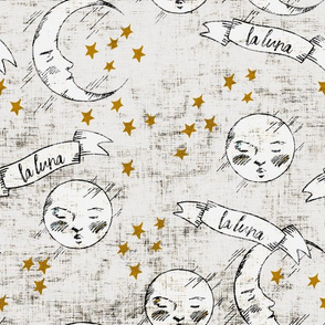 zodiac_la_luna_light gold stars